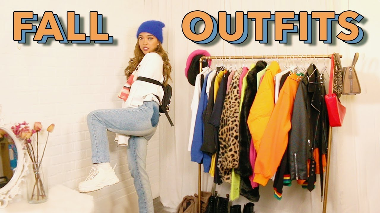 [VIDEO] - FALL OUTFIT IDEAS 2019 | how to add color to your fall outfits 1