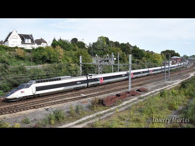 TGV Sud-Est - rame n° 08 et 13