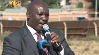 A section of Kajiado leaders endorse Water CS Eugene Wamalwa for Nairobi top seat
