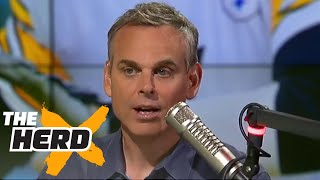 Someone called to defend Mike Tomlin and got SHUT DOWN by Colin| THE HERD