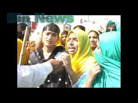 Gujrat girls strike against Gujranwala board part 5
