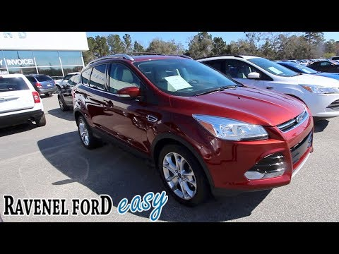 The 2014 Ford Escape Titanium Package – For Sale Review @ Ravenel Ford | Used Car Video