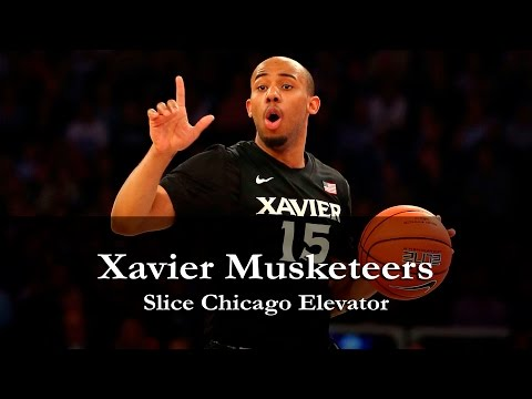 "Xavier Musketeers ""Slice Chicago Elevator"""