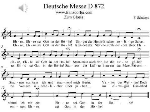 Deutsche Messe Schubert