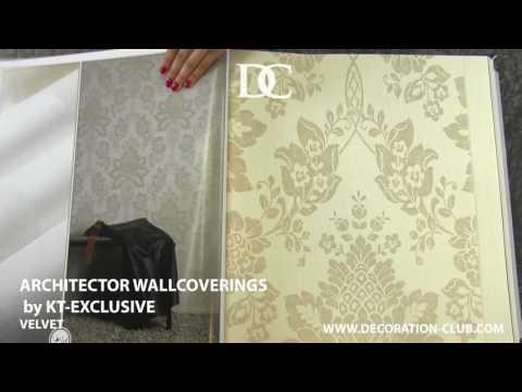 Oboi KT Exclusive Architector Wallcoverings Velvet