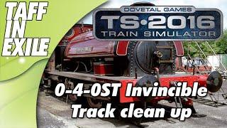 Train Simulator 2016 - E3 - Lightning Strike Track clean up!