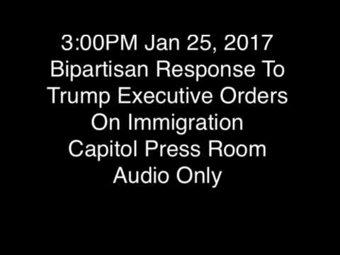 MN Leaders Denounce Trump Immigration Orders (Audio Only)