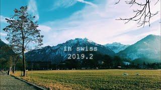스위스여행 브이로그) 스위스 취리히, 융프라우, 인터라…