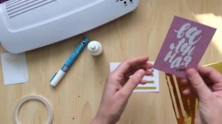 видео Фольга для фольгирования