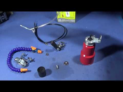 A Quick And Easy Cutting Oil System For The Chinese Mini Lathe
