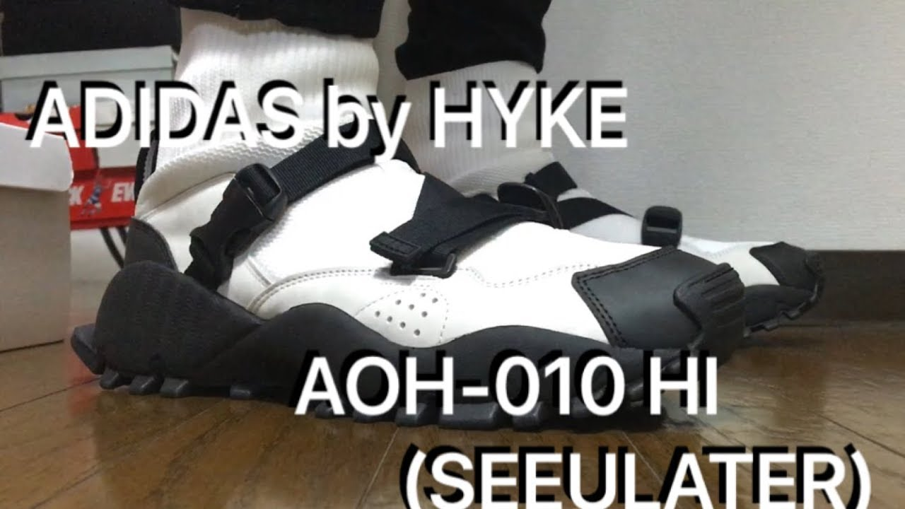 check out 536c6 f0bd6 ADIDAS by HYKE AOH-010 HI(SEEULATER) review & on feet!!