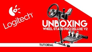 Repeat youtube video Wheel Stand Pro Deluxe v2 para logitech g27 || Unboxing, montaje y opinión