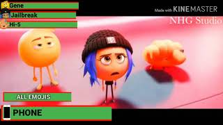 The Emoji Movie Final Battle With Healthbars PART 2
