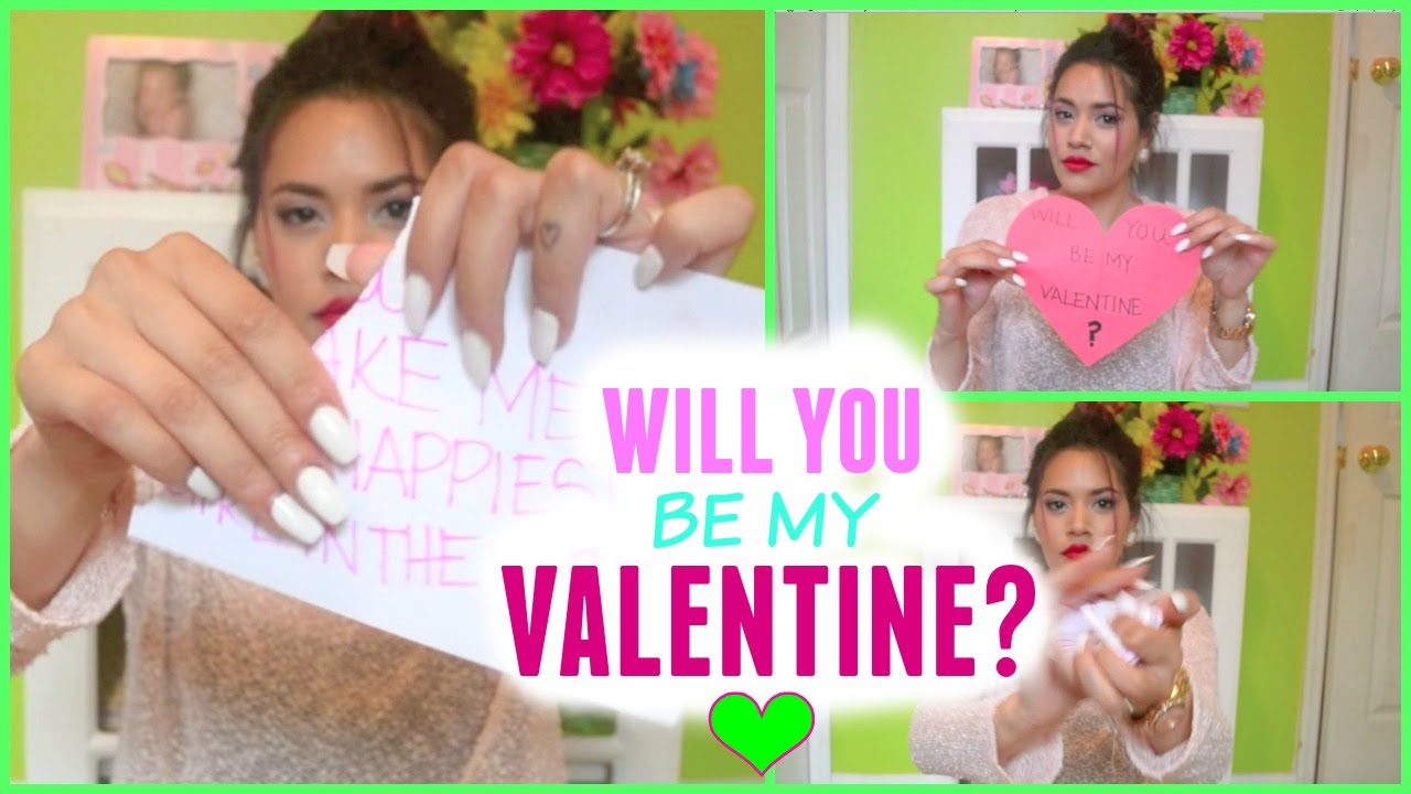 Be My Valentine (how To Ask Your Boyfriend)
