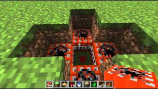 Genius Piston TNT Tŗap - MineCraft 1.2.5