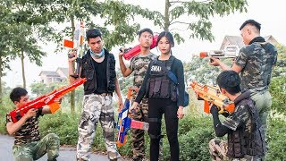 MASK Nerf War : Special Warrior Nerf Guns Fight Crime Mask Bandits Diamond