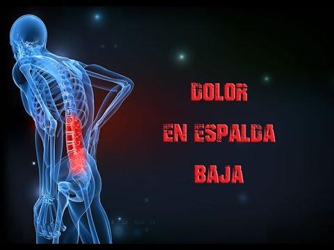 dolor espalda baja higado