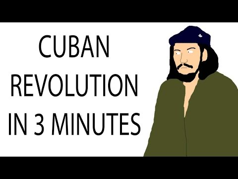 Cuban Revolution | 3 Minute History