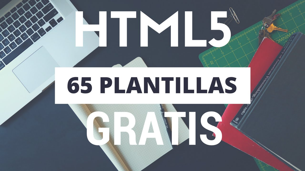 PLANTILLAS HTML5 GRATIS para Descargar y editar 💪65 Templates - YouTube