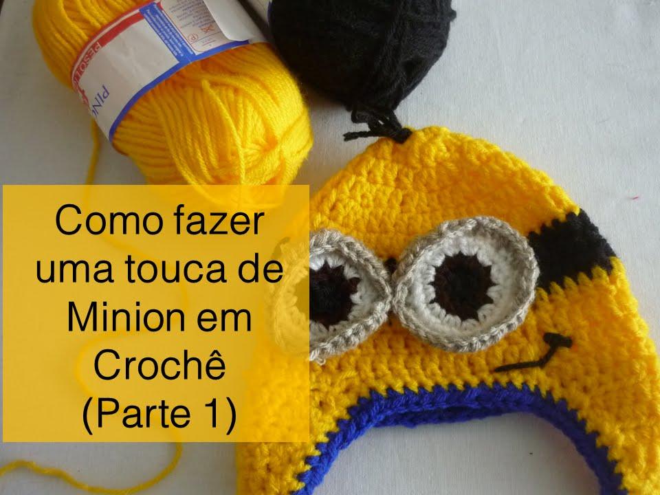 Como fazer uma Touca de Minion (Parte 1) - YouTube 75b2e472f2f