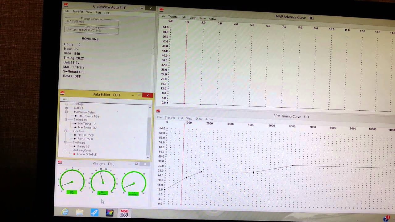 LS6 MSD Tuning
