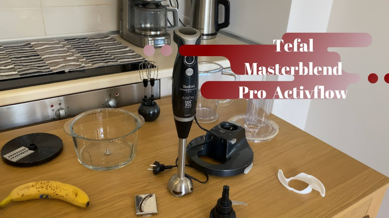 Tefal Masterblend Pro Activflow Multi Blender Seti  İncelemesi