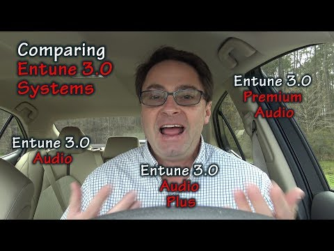 Comparing 2018 Toyota Entune 3.0 Systems  - Choose the Right One