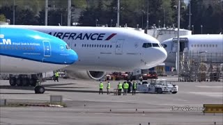 2 New KLM & Air France Boeing 777-300ER