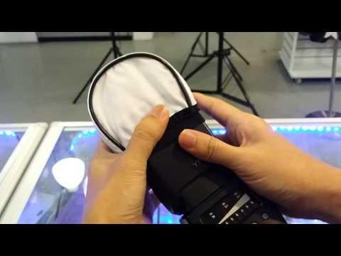 Bounce soft Diffuser for Universal DSLR Flashlight