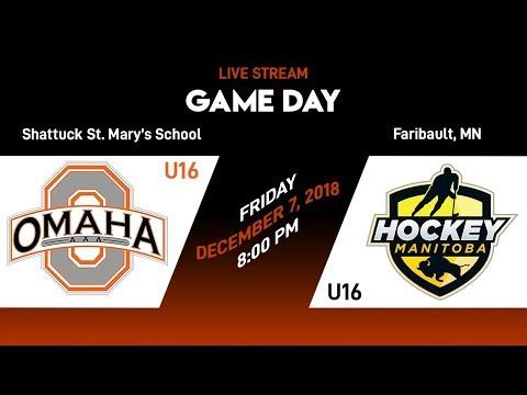 2018-12-07 Omaha AAA U16 Vs.  Team Manitoba U16 - (L, 5-1)