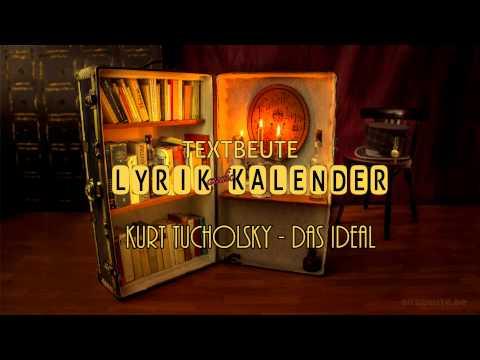 1. Januar - Lyrik Kalender / Kurt Tucholsky - Das Ideal