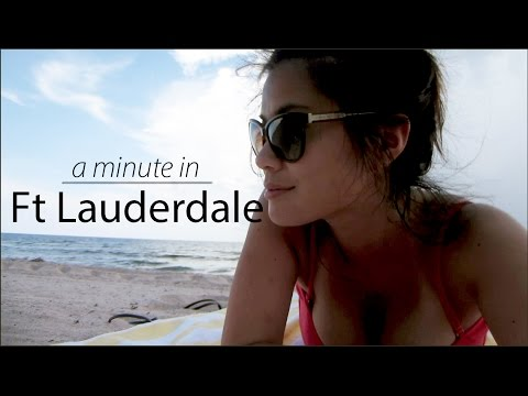 A Minute in Ft Lauderdale | Angela B Pan Photography