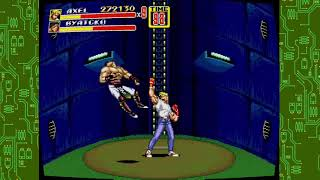 Sega genesis classics collection streets of rage 2 stage 4 gameplay