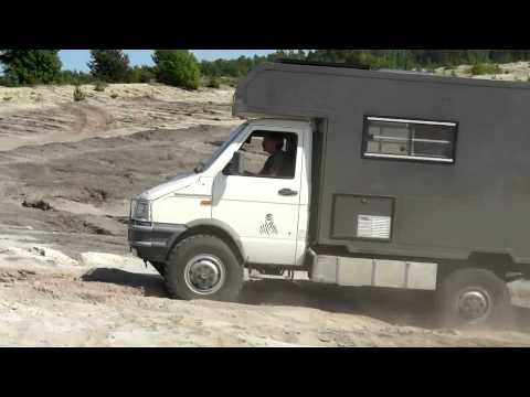 IVECO Daily 4x4 offroad lausitz - YouTube