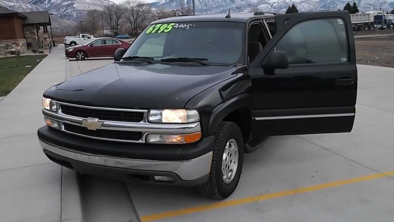 2005 chevrolet tahoe 4x4 for sale automatic seats nine power windows and locks youtube. Black Bedroom Furniture Sets. Home Design Ideas