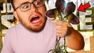 This EVIL PLANT tried to KILL ME | Journey To The Savage Planet #2