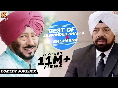 Best of Jaswinder Bhalla & BN Sharma - Comedy Jukebox | Yaaran Da Katchup | Punjabi Movie