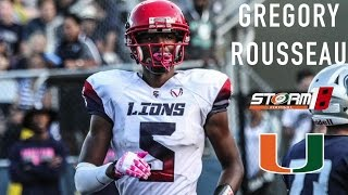 Gregory Rousseau Junior Highlights