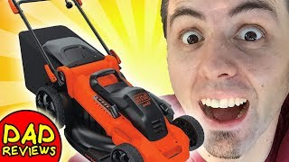 BEST Corded Lawn Mower? | Black and Decker MM2000 Unboxing & First Look Review