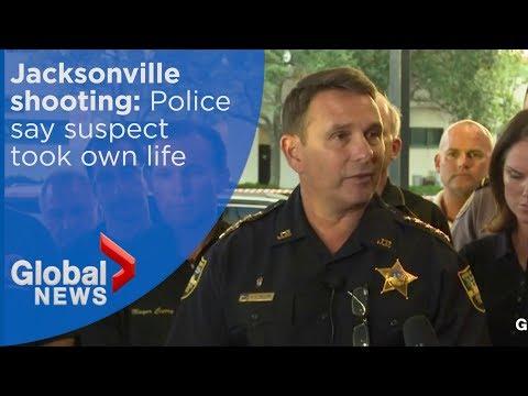 Jacksonville shooting: Madden 19 shooter took own life says Jacksonville Sheriff's Department