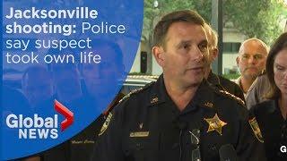 Jacksonville shooting: Madden 19 shooter took own life says Jacksonville Sheriff