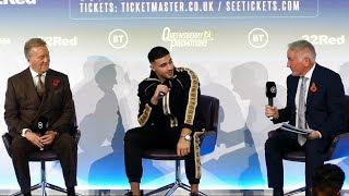 LOVE ISLAND to the ring: Tommy Fury boxing press conference | Frank Warren