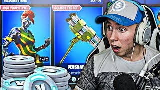 1 DEATH = 1 FREE SKIN! How To Get The NEW Fortnite 'ABSTRAKT' Skin Gameplay! (FREE Fortnite Skins)