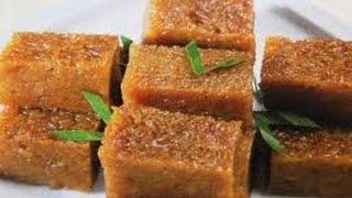 Resep Cara Membuat Kue Wajik Gula Merah Legit @Dafa TubeHD