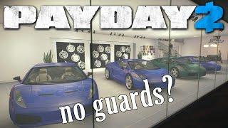Car Shop NO guards, all dead! Silent Assassin mod (Payday2)