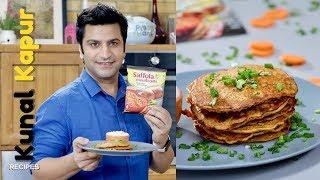 Besan Chilla Pancakes with Oats   Kunal Kapur Recipes   Indian Breakfast Recipe