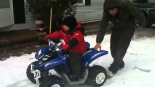 Reelan Crashes Poodle With Motorcycle