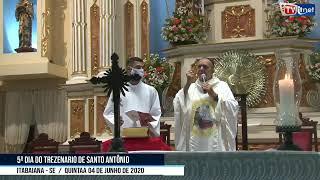 Quinta noite do Trezenário de Santo Antônio