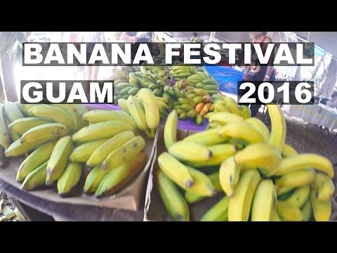 GUAM, Banana Festival 2016