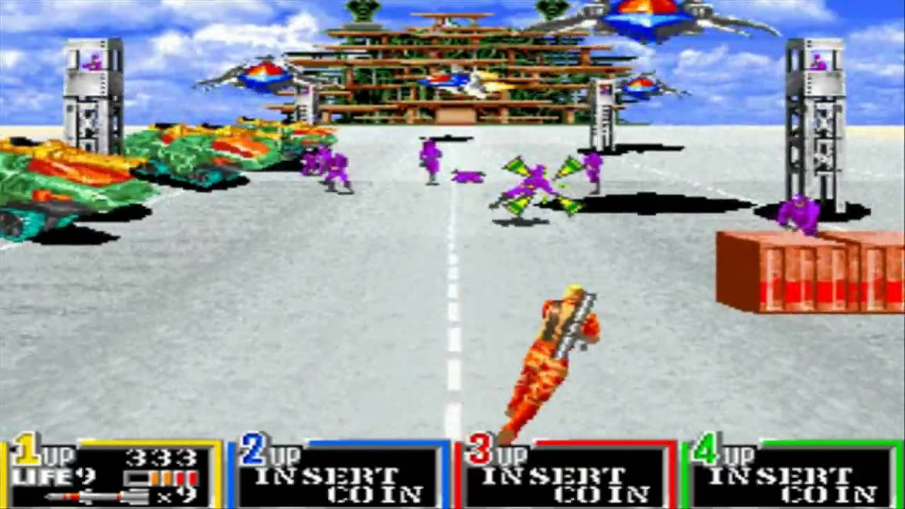GI Joe (Arcade) [HD] - Part 1 - YouTube